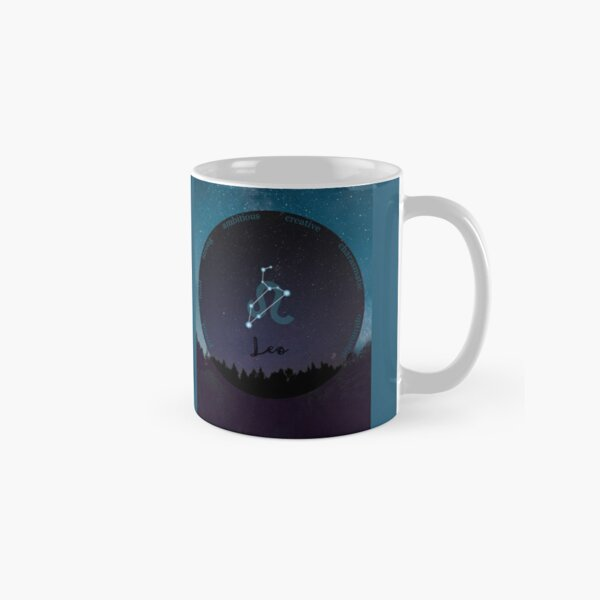 Leo Zodiac Sign Character Traits Classic Mug