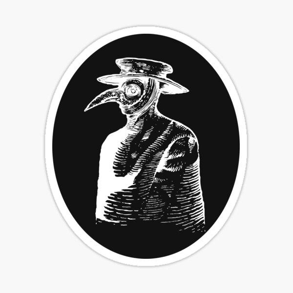 Plague Doctor Sticker