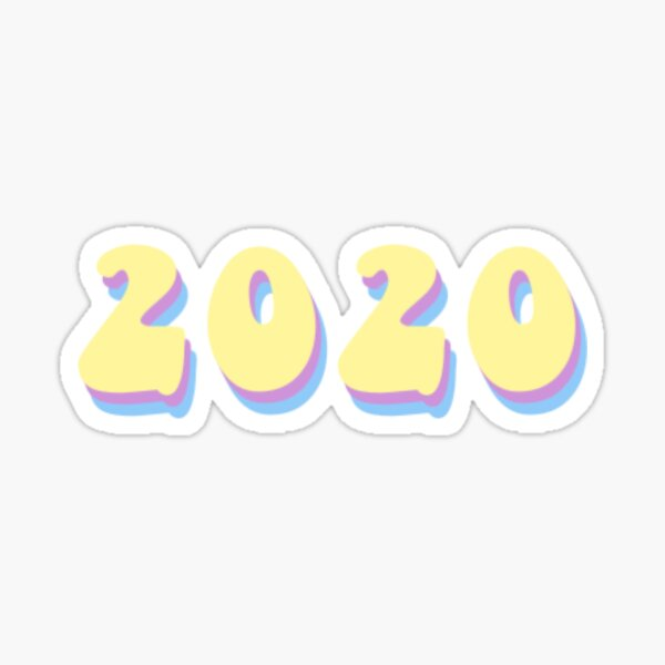 vsco 2020 Sticker