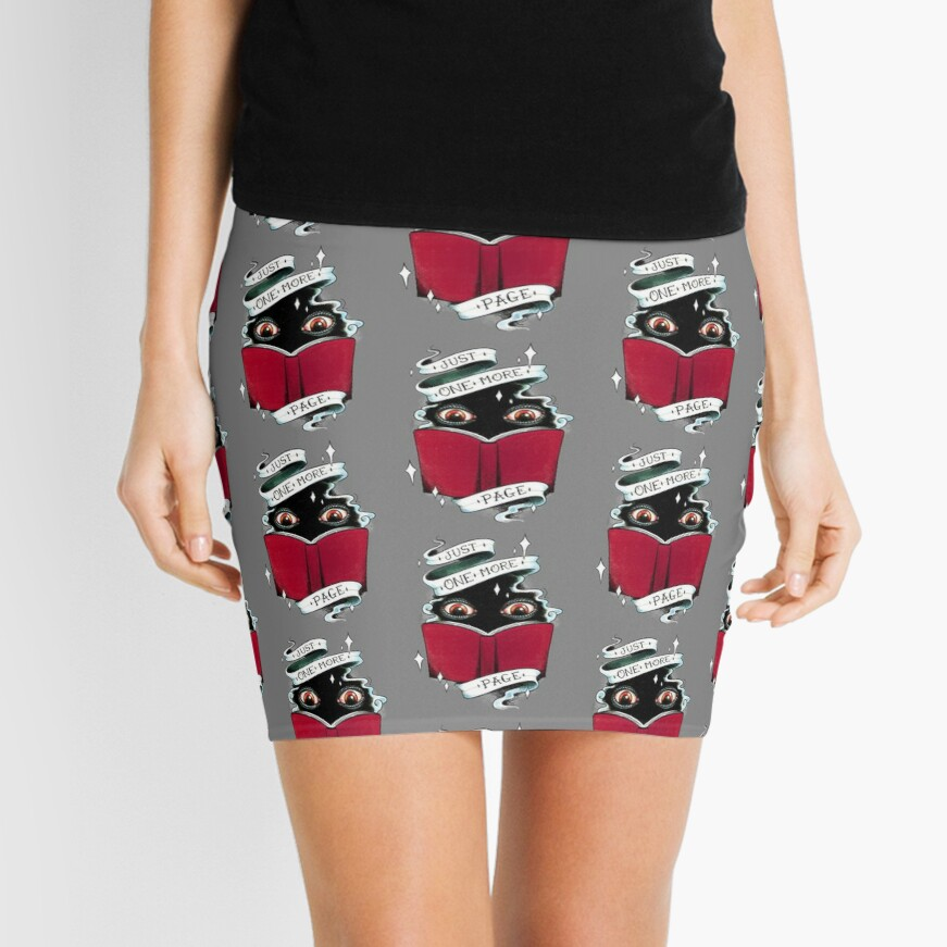 One More Page Mini Skirt