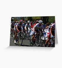 Fabian Cancellara & Cadel Evans Greeting Card