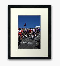 The Peleton Framed Print