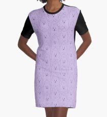 Marshall the Samoyed Graphic T-Shirt Dress