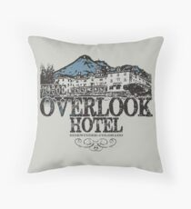 The OverLook Hotel Throw Pillow