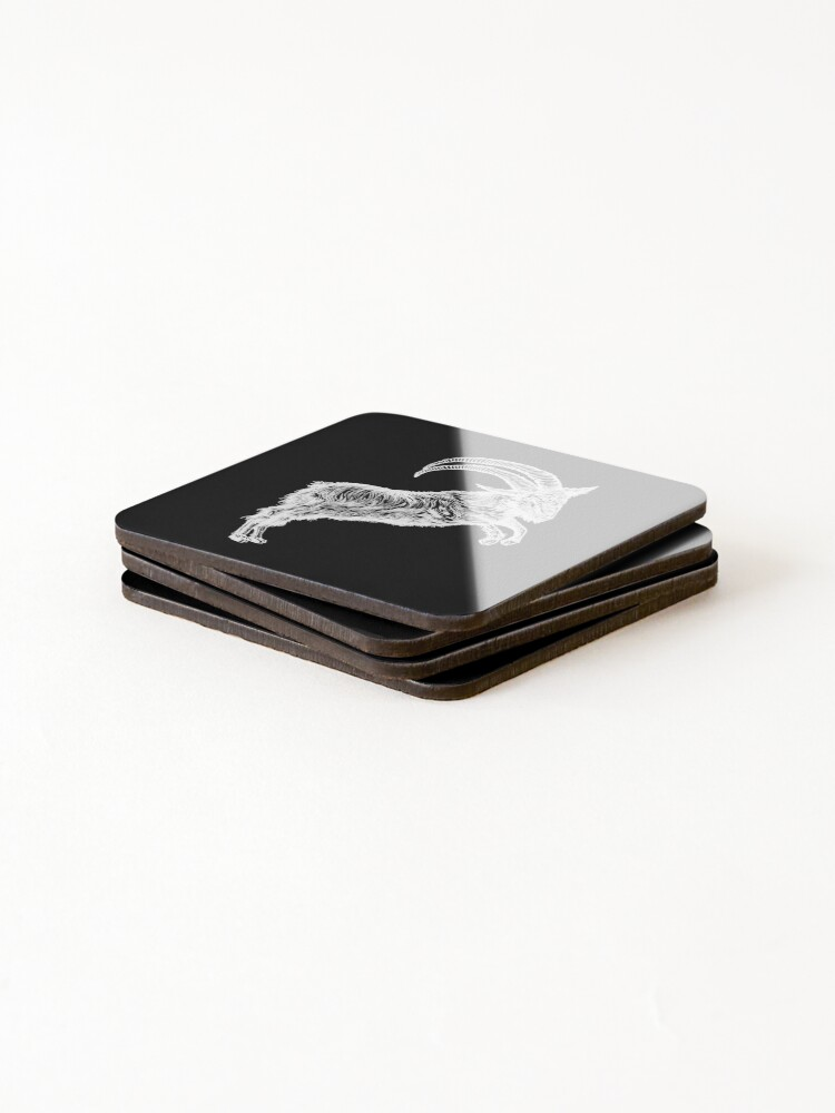 Alternate view of Do What Thou Wilt Coasters (Set of 4)