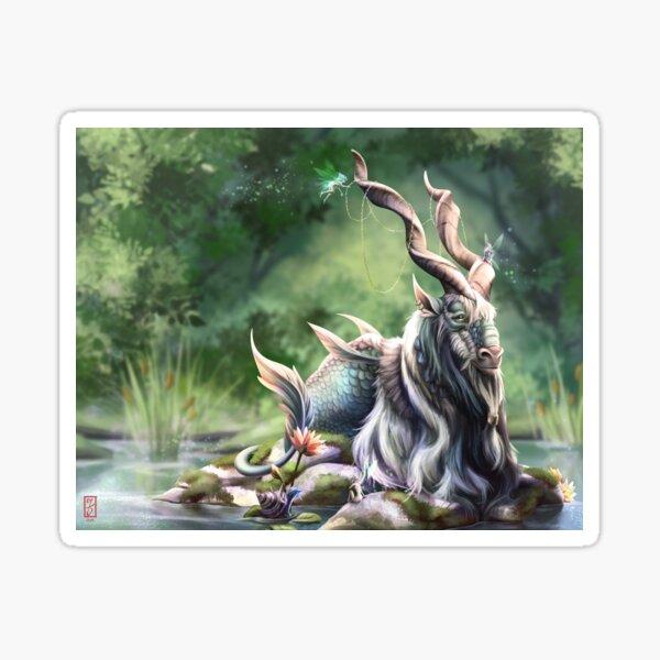 Water Goat Sticker