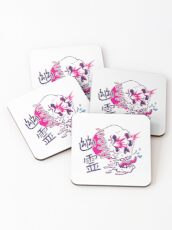 Ghost Power Unlimited Coasters