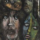 Faces, Bernard Lacoque-13 by ArtLacoque