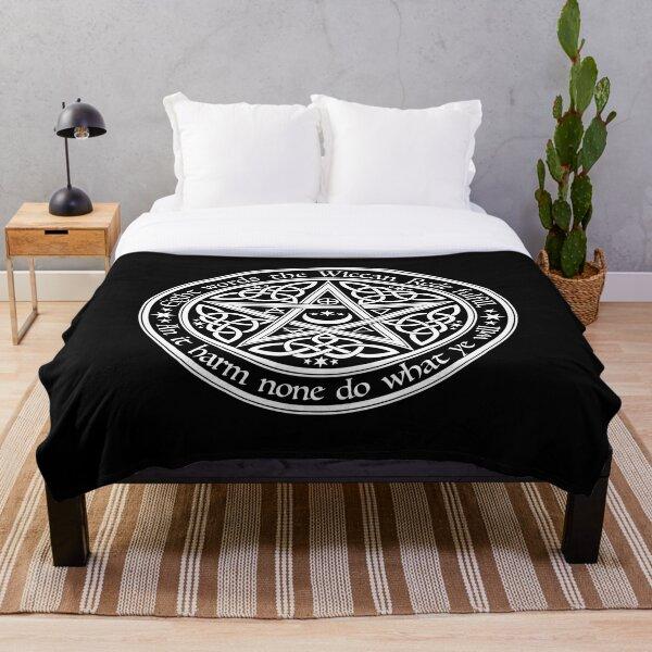 Celtic Pentagram Throw Blanket