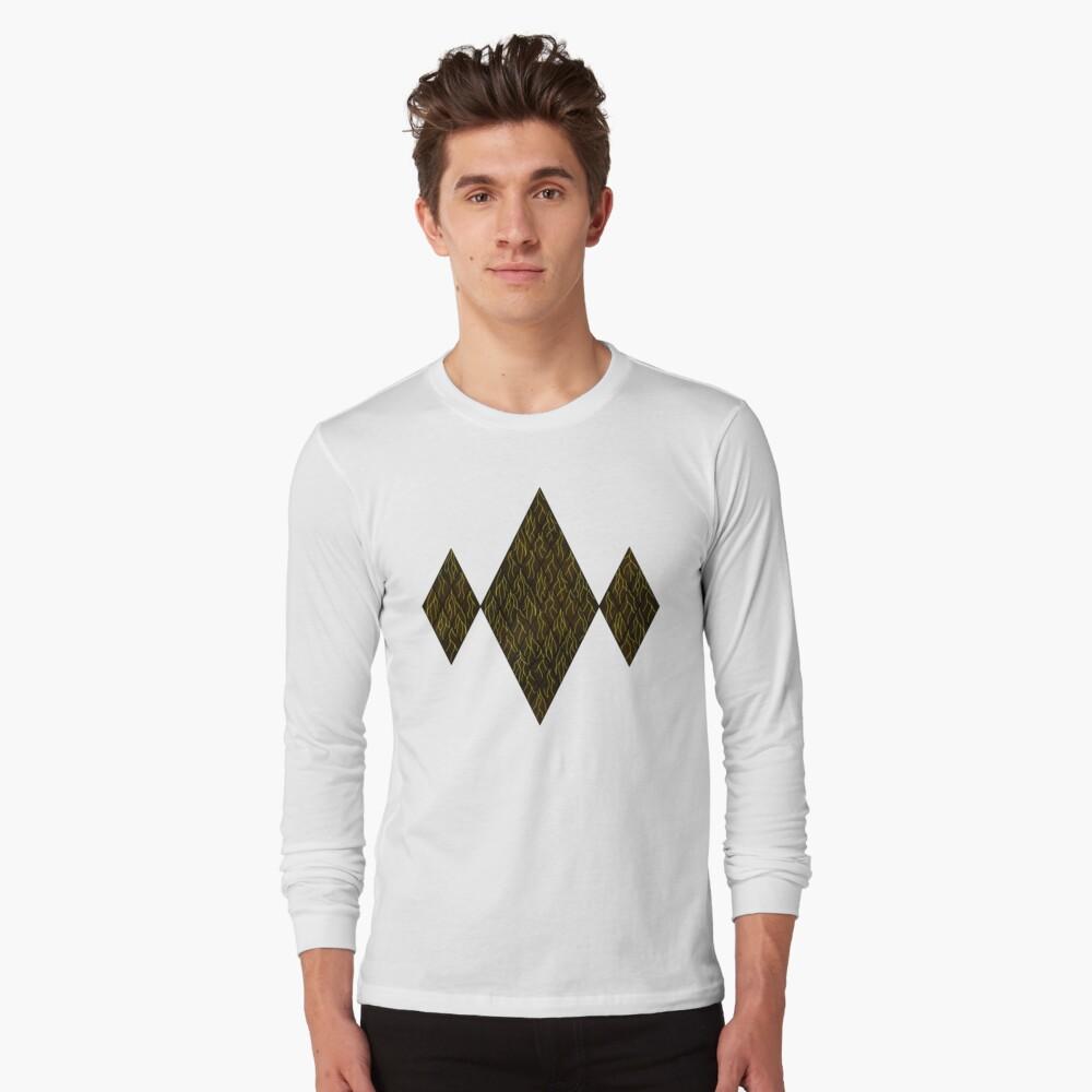 Earthen Scales, Golden Streams Long Sleeve T-Shirt
