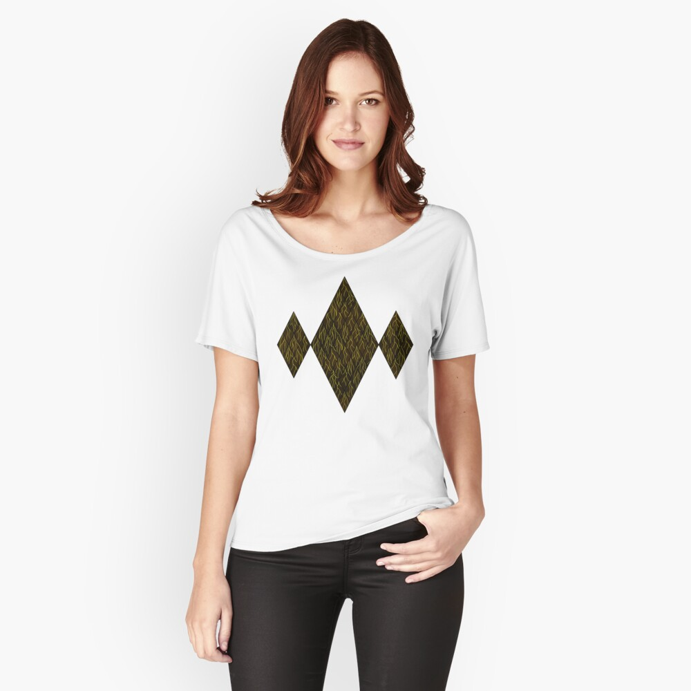 Earthen Scales, Golden Streams Relaxed Fit T-Shirt