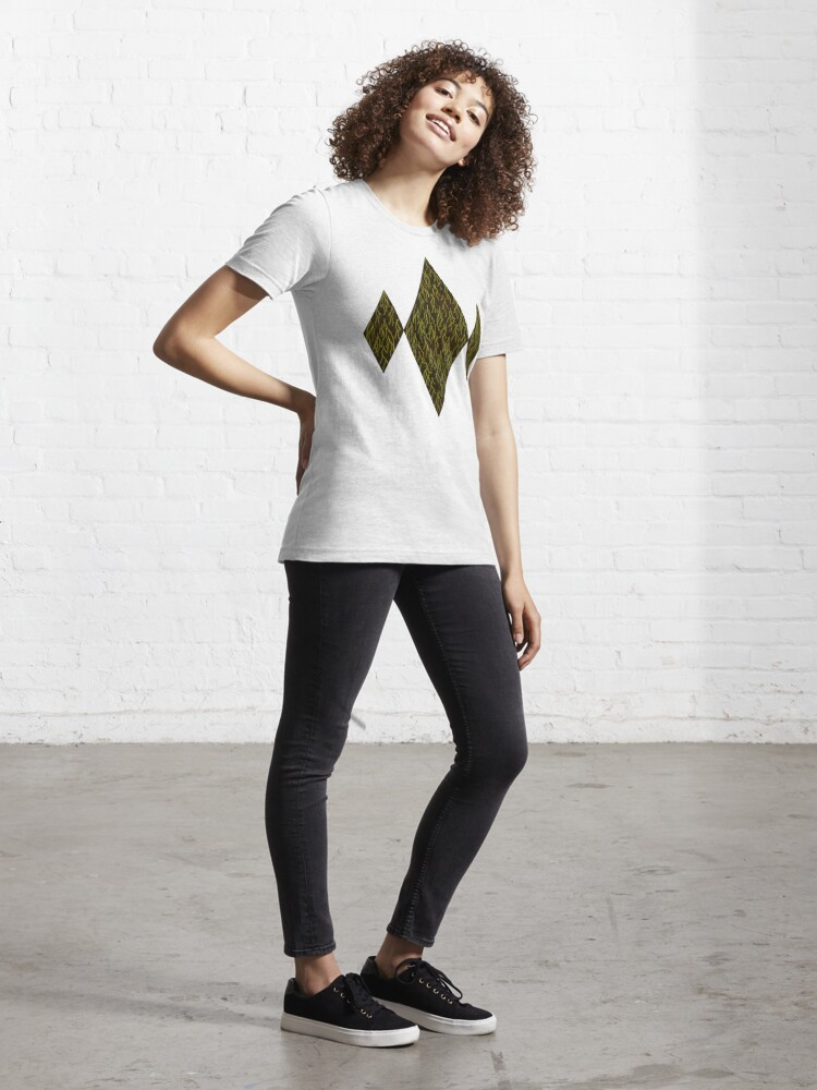 Alternate view of Earthen Scales, Golden Streams Essential T-Shirt