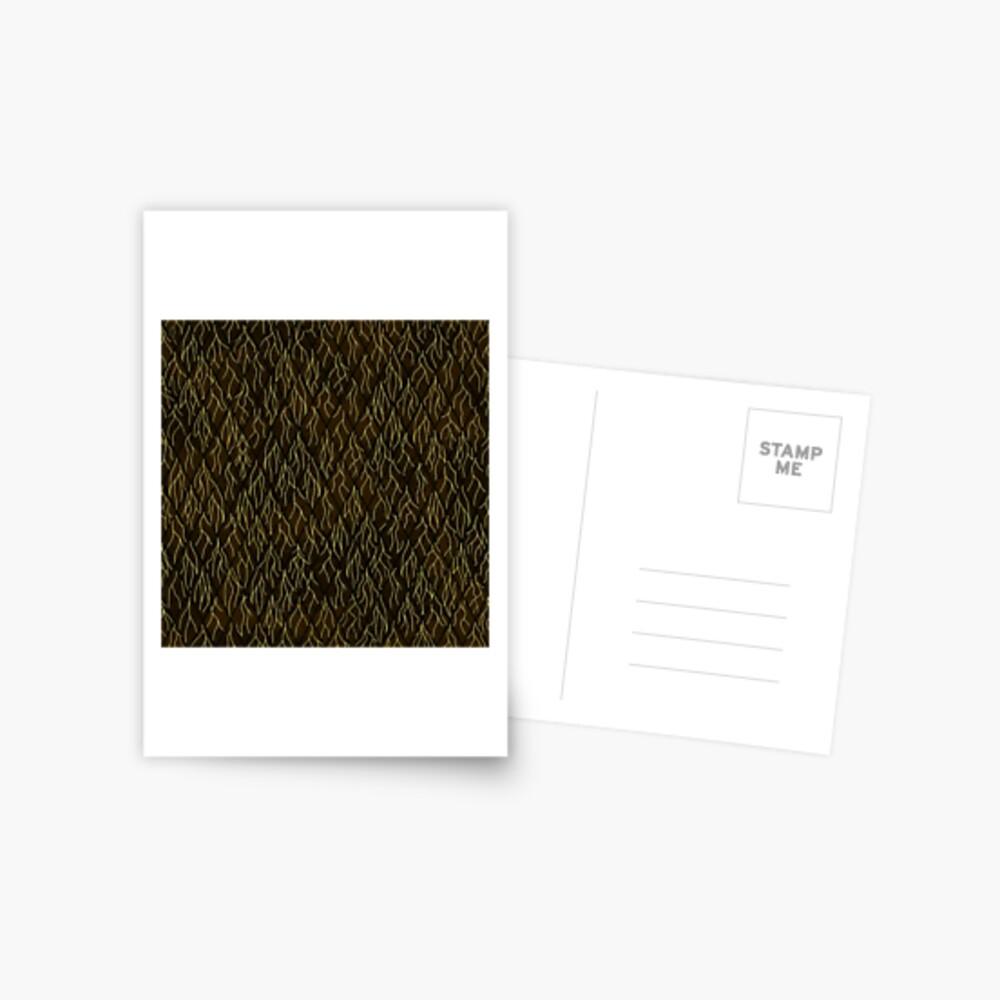 Earthen Scales, Golden Streams Postcard