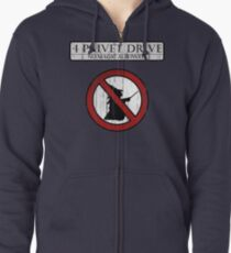 No magic allowed Zipped Hoodie