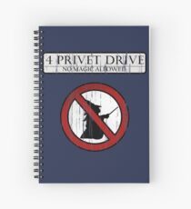 No magic allowed Spiral Notebook