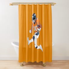 The Kung Fu Fighter Shower Curtain