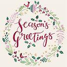 Seasons Greetings Wreath by kimfleming