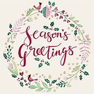 Seasons Greetings Wreath by kimfleming