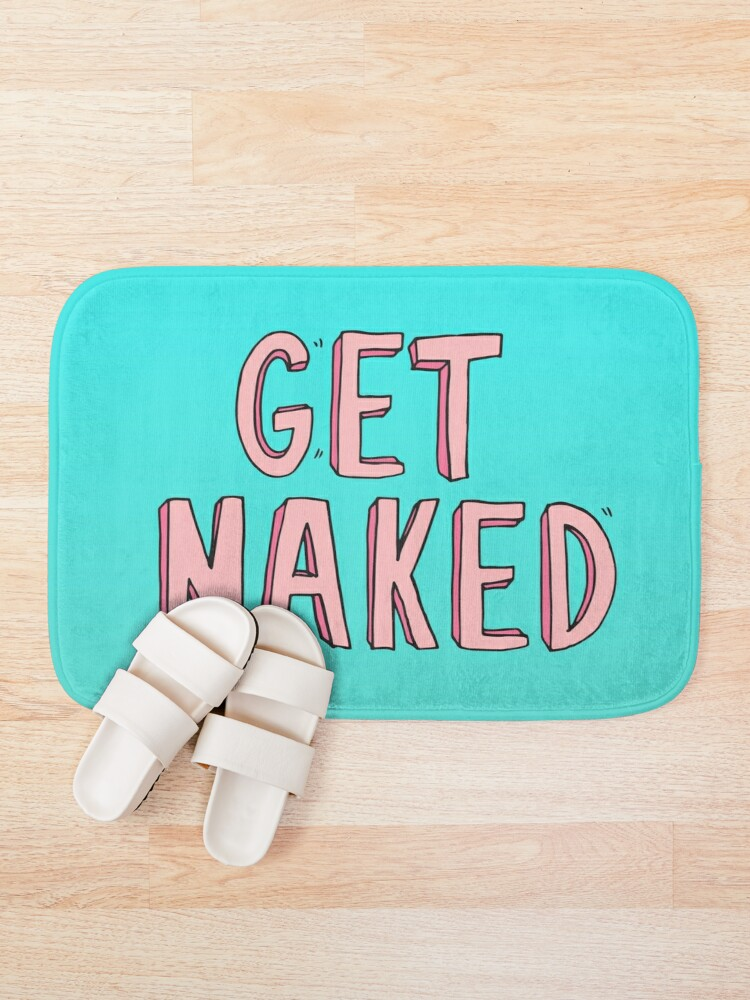 Alternate view of Get Naked Bath Mat