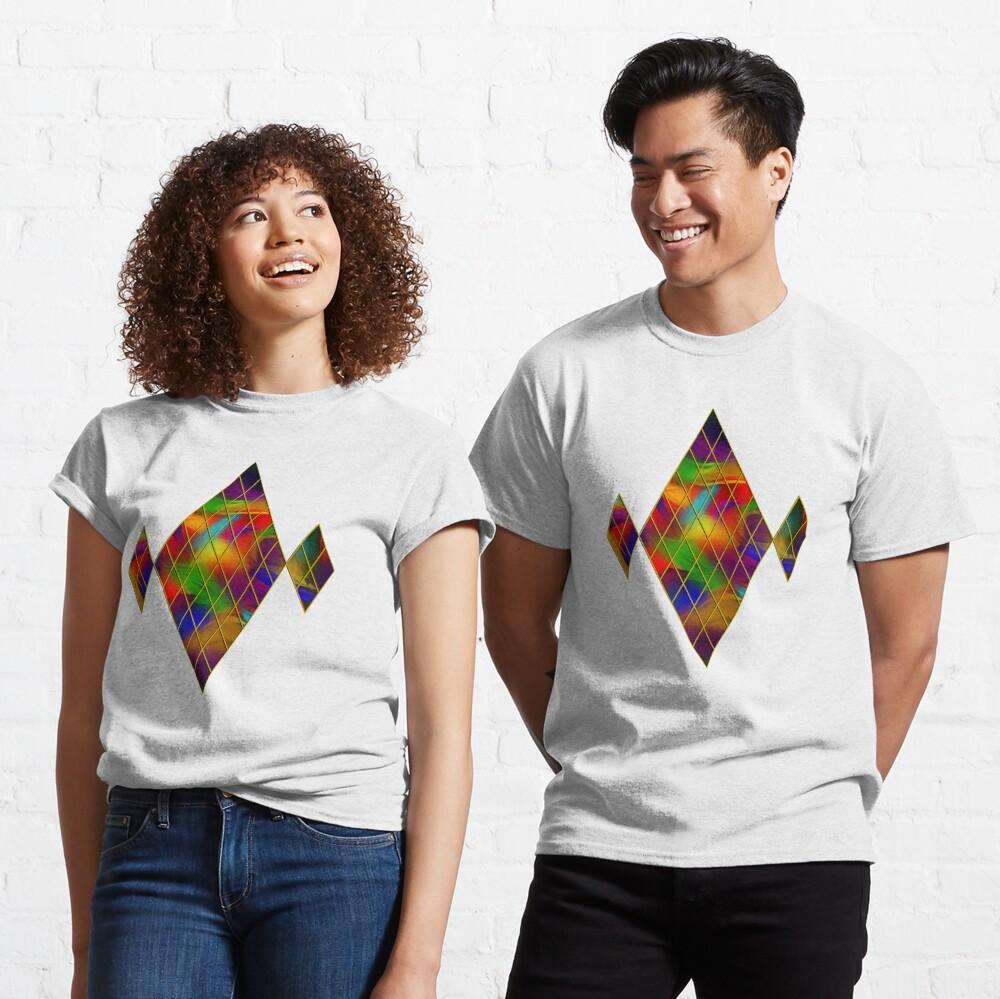 Golden Diamonds, Rainbow Void Classic T-Shirt