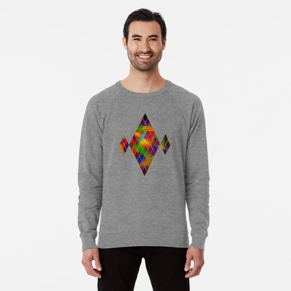Golden Diamonds, Rainbow Void Lightweight Sweatshirt