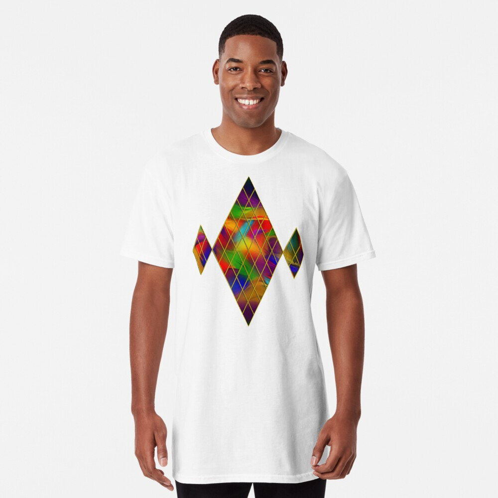 Golden Diamonds, Rainbow Void Long T-Shirt