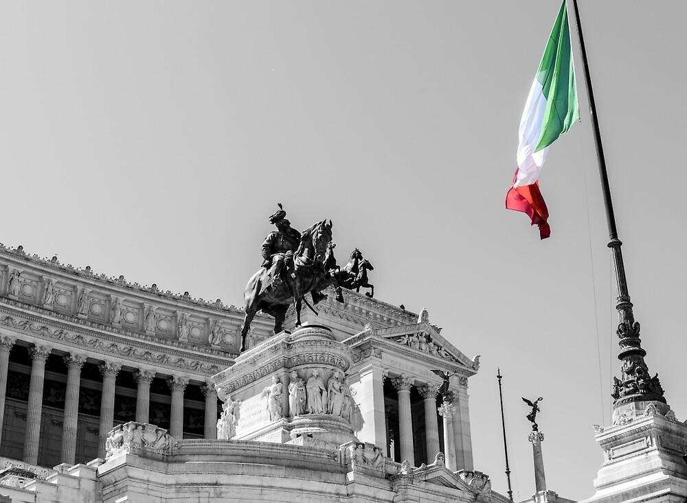 Rome, Altar of the Fatherland  by Andrea Mazzocchetti