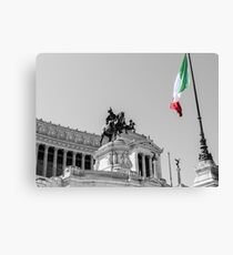 Rome, Altar of the Fatherland  Canvas Print