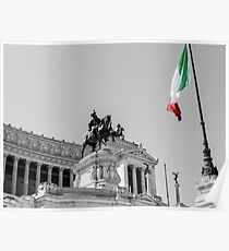Rome, Altar of the Fatherland  Poster