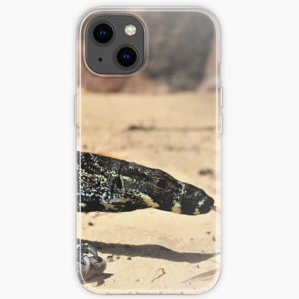 Australian Goanna, Big Lizard iPhone Soft Case
