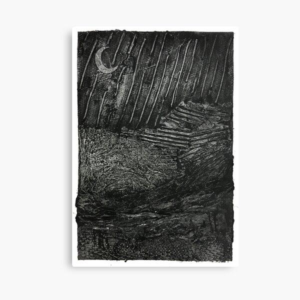 It Can't Rain All The Time (Intaglio) Canvas Print