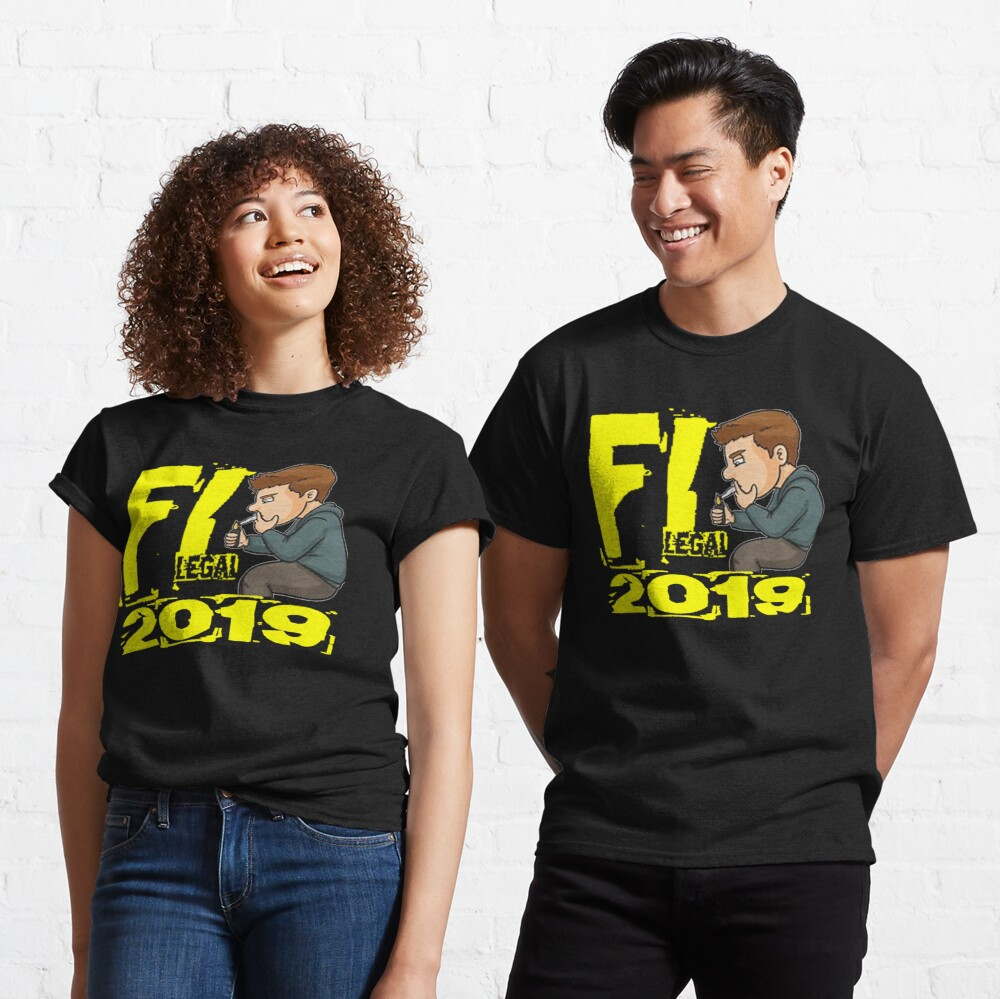 FL Legal 2019 T-Shirt Design Classic T-Shirt