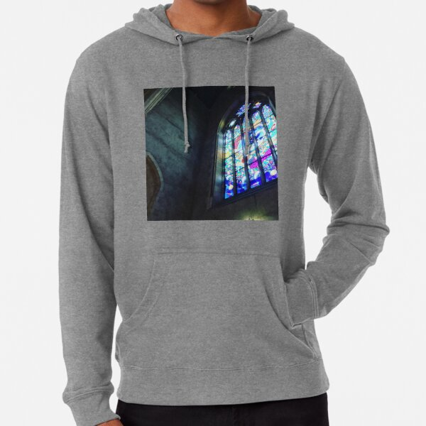 Stained Church Lightweight Hoodie