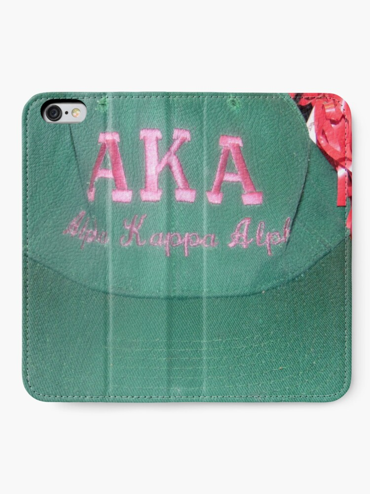Alternate view of AKA Collection  iPhone Wallet
