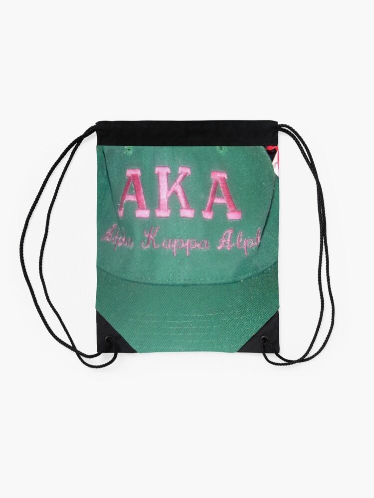 Alternate view of AKA Collection  Drawstring Bag