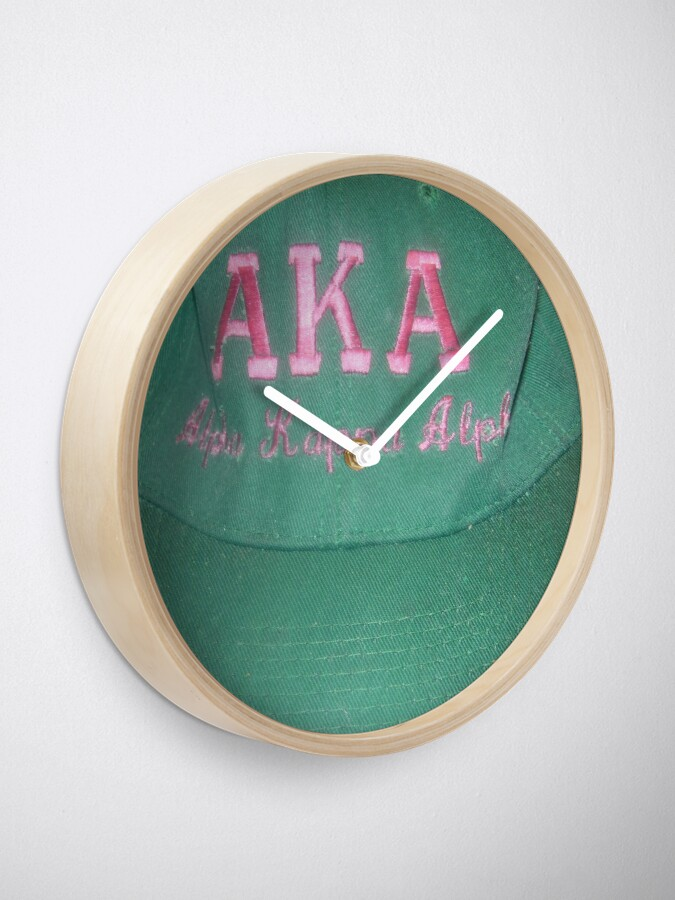 Alternate view of AKA Collection  Clock