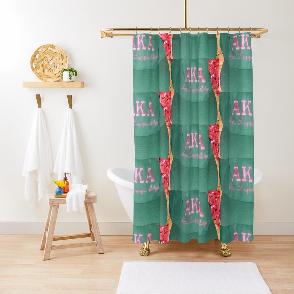 AKA Collection  Shower Curtain