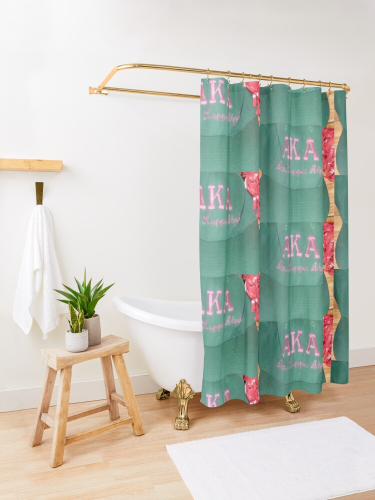 Alternate view of AKA Collection  Shower Curtain