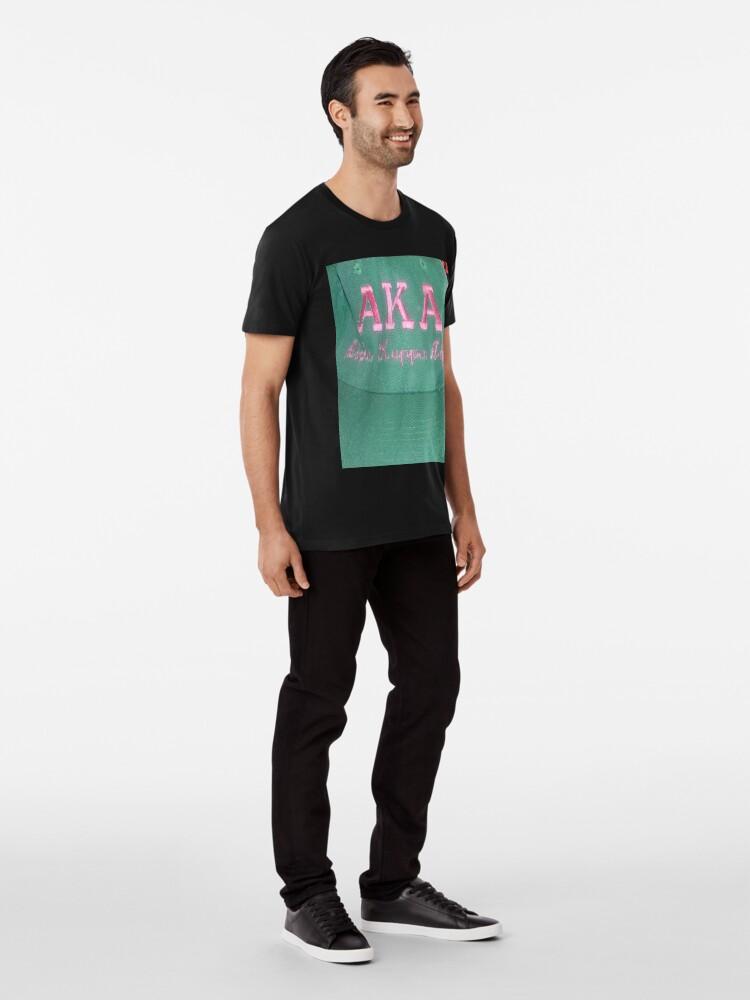 Alternate view of AKA Collection  Premium T-Shirt