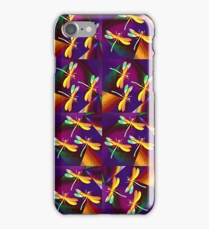 Dragonflies Colours QZ iPhone Case/Skin