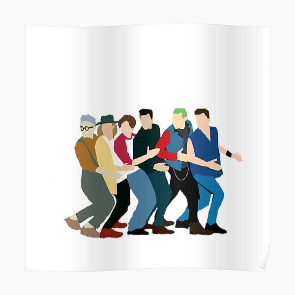 McBusted, minimalist Poster