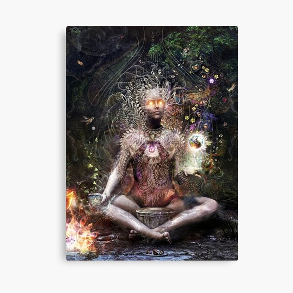 Sacrament For The Sacred Dreamers - Vertical Canvas Print
