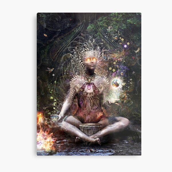 Sacrament For The Sacred Dreamers - Vertical Metal Print
