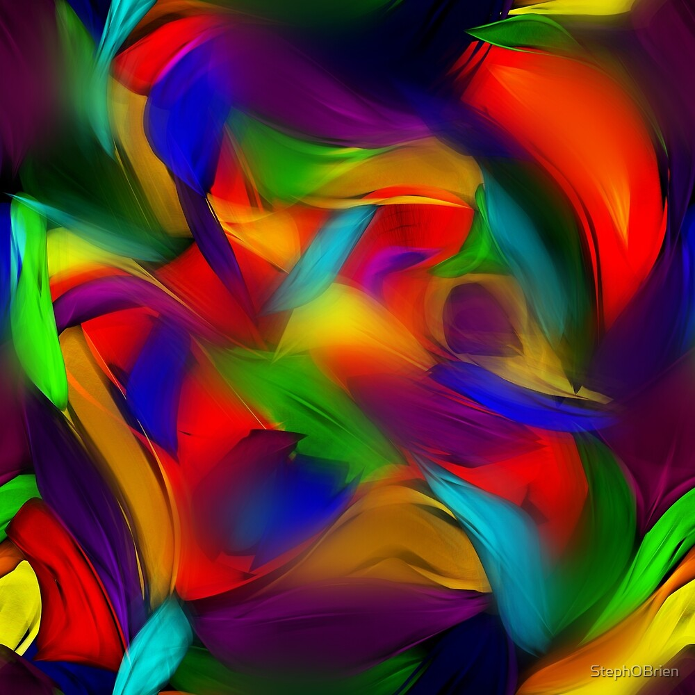 Rainbow Dapple by StephOBrien