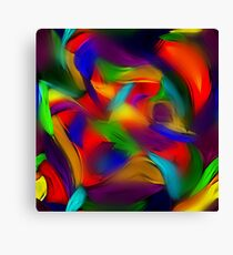 Rainbow Dapple Canvas Print