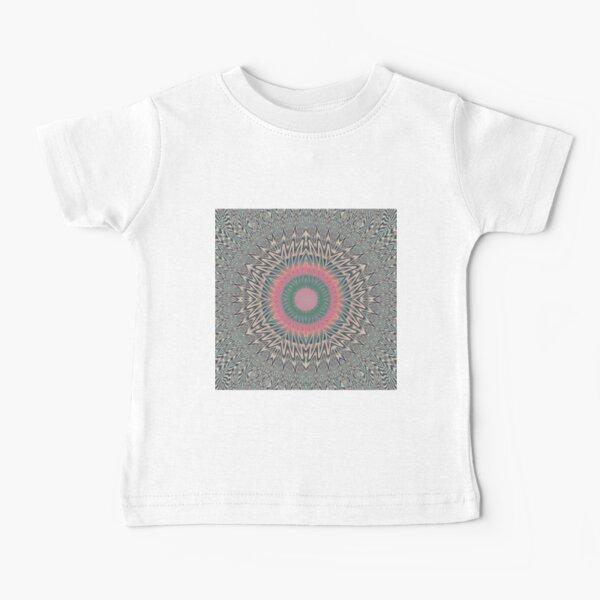 Motif, Visual, #Art, #Circle, #2D #Shape, pattern, abstract, decoration, design, illustration, ornate Baby T-Shirt
