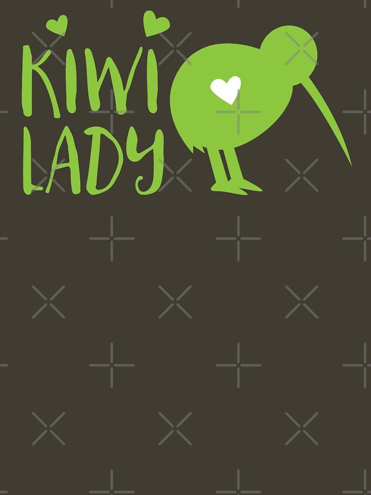 KIWI LADY cute kiwi bird by jazzydevil