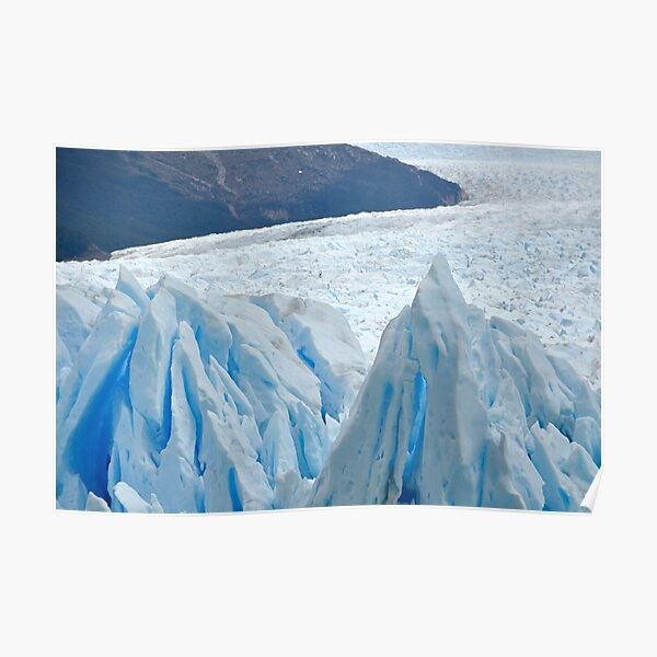 Glacial Beauty Poster