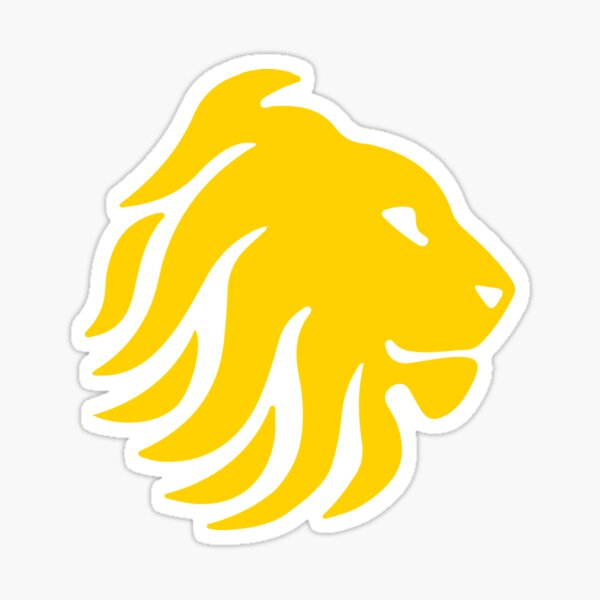 Great Britain Lions Rugby League Sticker