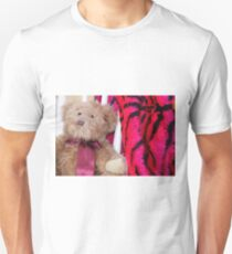 A Bear A Chair And Some Gorgeous Pink Fur  Unisex T-Shirt